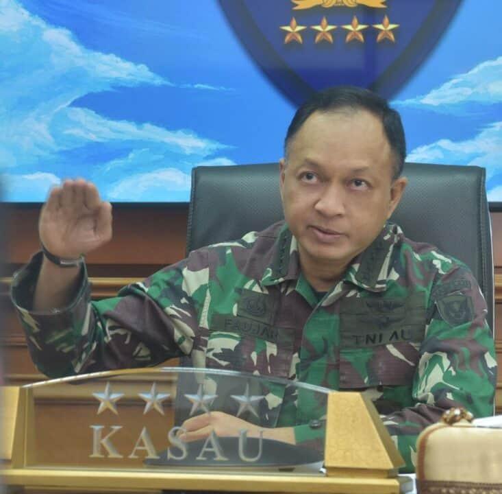 Kasau-CAF RSAF Sepakat Tingkatkan Kerja Sama