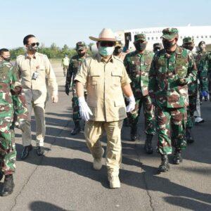 Danlanud Adisutjipto ikuti Video Conference penyerahan Apresiasi kepada prajurit dalam penanganan Covid 19 TNI
