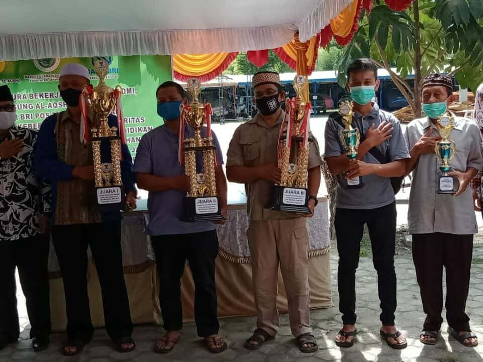 Masjid Ababil Lanud Silas Papare Raih Juara 3