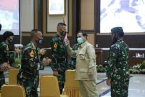 Kunjungi AAU, Menhan: Pola Pikir Perwira Muda Harus Siap Perang