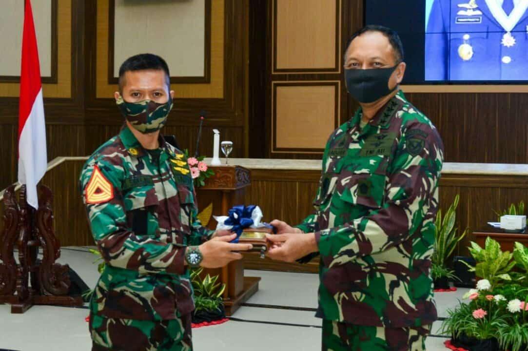 Kunker di Yogyakarta, Kasau: Perwira Harus Miliki Integritas