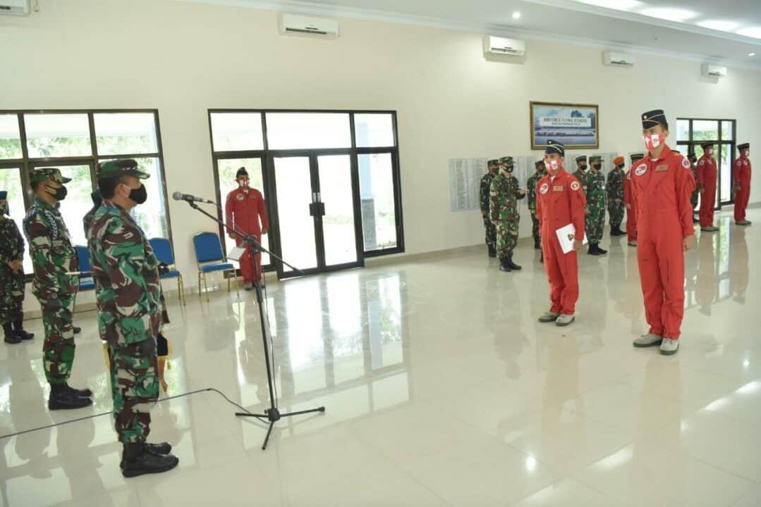 Danlanud Adisutjipto tutup Kursus JAT Reposisi Angkatan 5, dan buka Kursus JAT Regenerasi Angkatan 4
