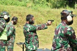 Tingkatkan Kemampuan, Lanud Adisutjipto Gelar Latihan Menembak