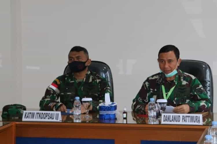 Tim Wasrik Itkoopsau III Kunjungi Lanud Pattimura
