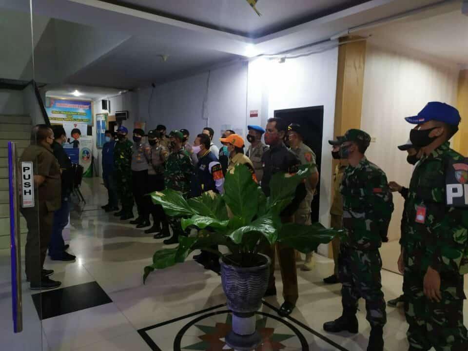 Dukung Program PSBB Kota Ambon, Jajaran Satpom Lanud Pattimura Ikut Patroli Gabungan
