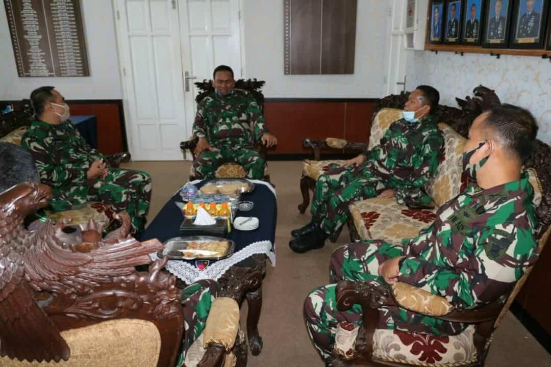 Danlanud Dhomber Terima Kunjungan Tim Irjen TNI
