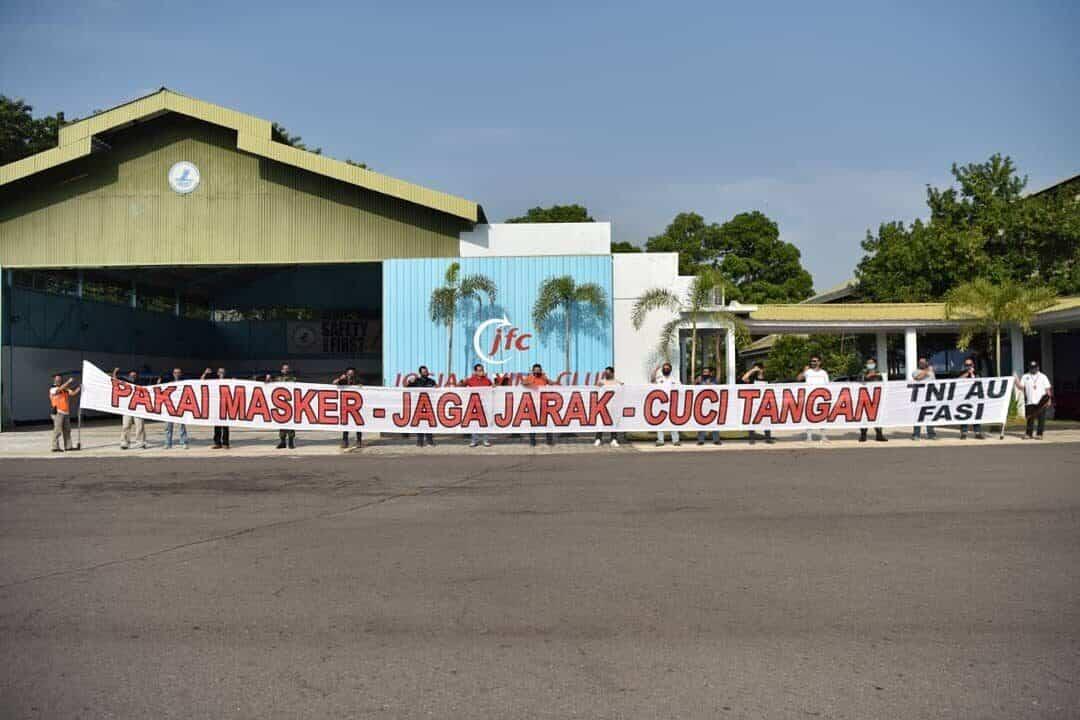 Sosialisasikan New Normal di Yogyakarta melalui Banner Flight