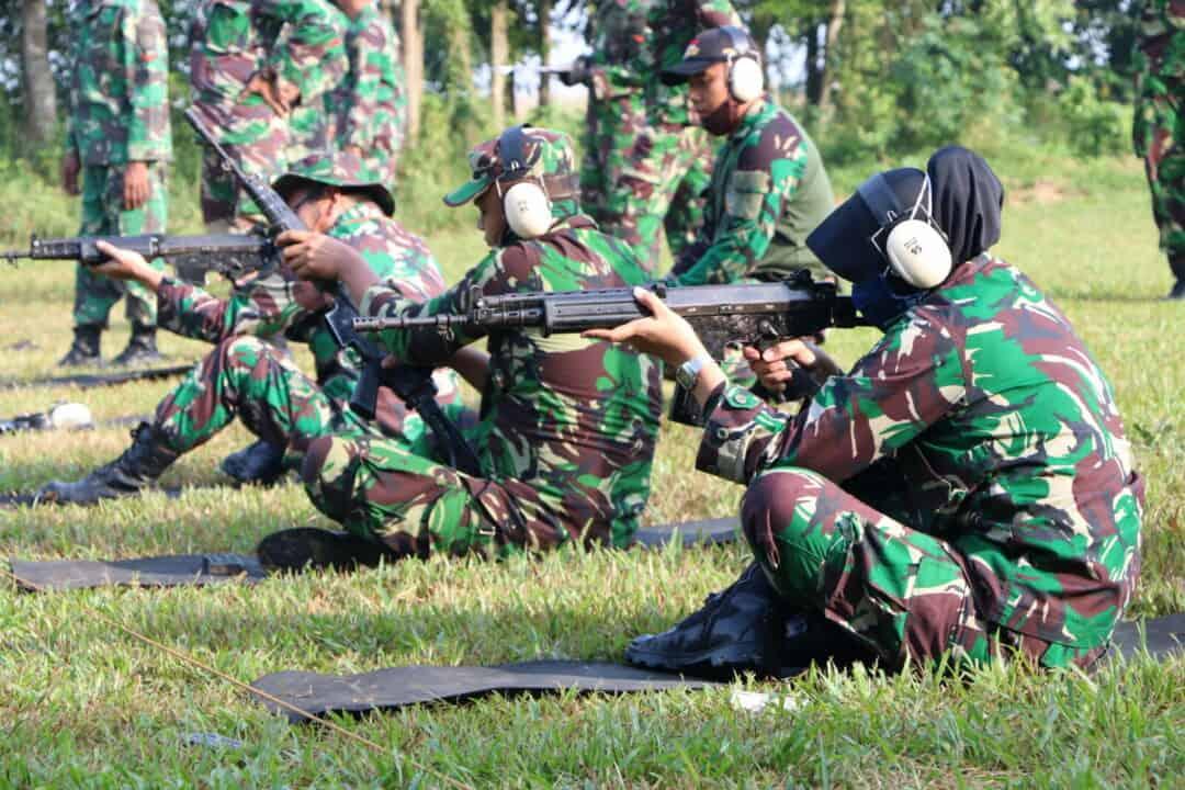 Personel Wingdiktek Latihan Menembak Asah Kemampuan Sebagai Bentuk Profesional Seorang Prajurit