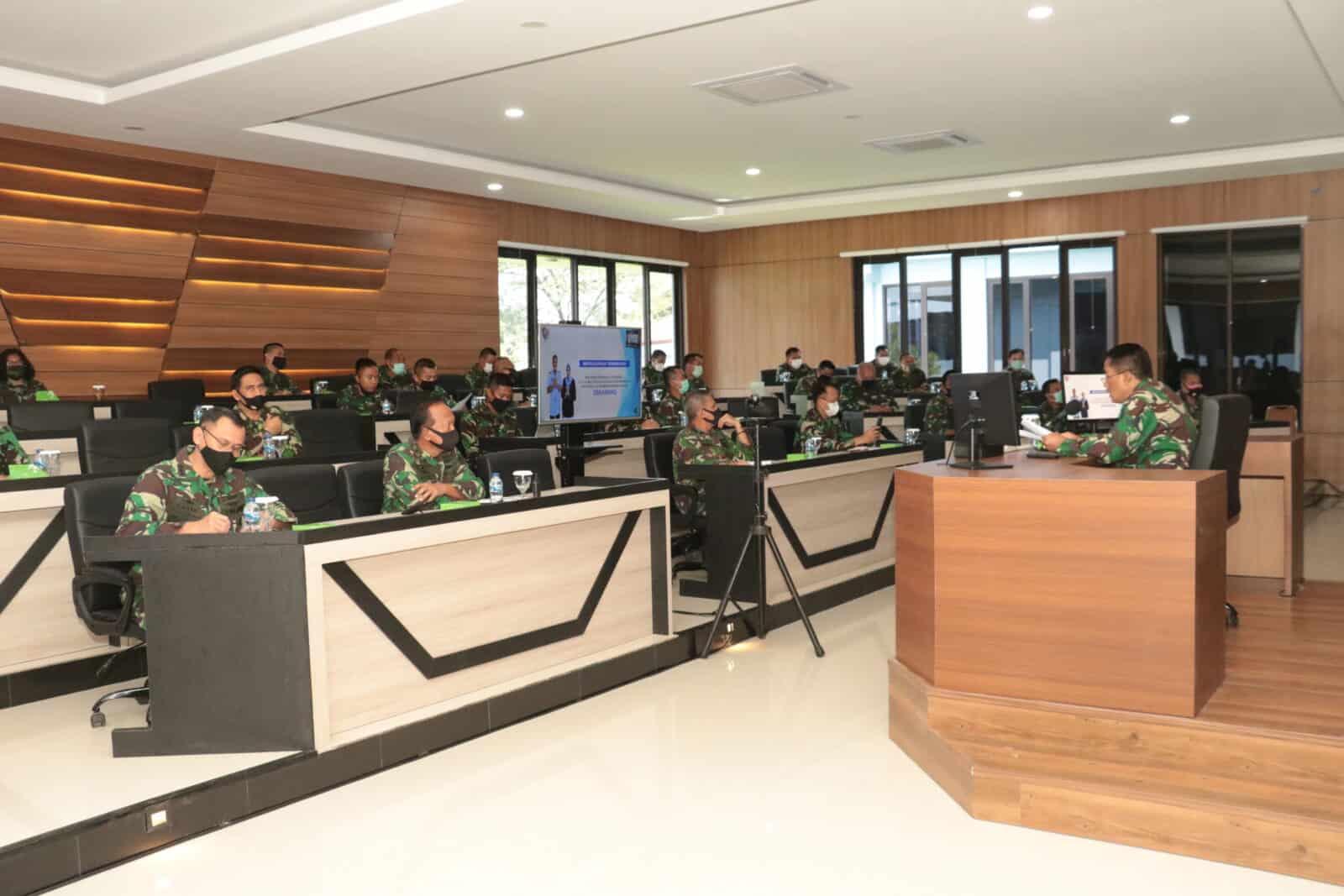 Entry Briefing Marsma TNI Tri Bowo Budi S. Awali Jabatan Pangkoopsau I