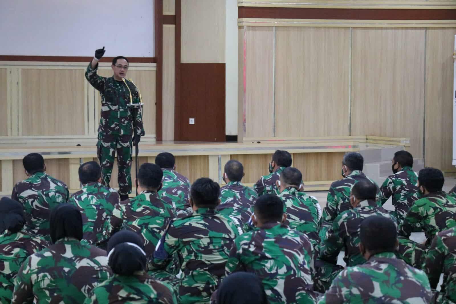 Pangkosekhanudnas II Melaksanakan Tatap Muka Dengan Personel Kosekhanudnas II
