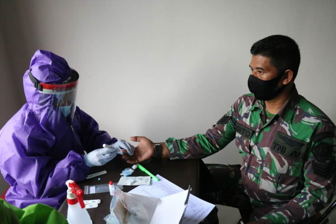 Kosekhanudnas II Laksanakan Rapid Test Tahap Kedua