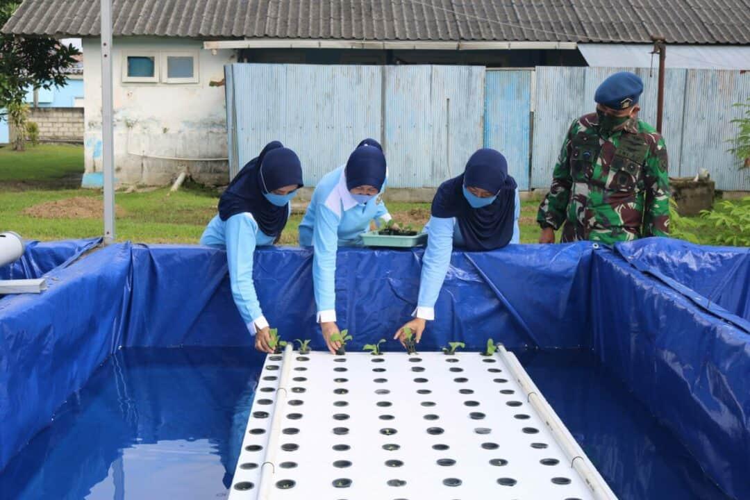 Program Kolam Ikan Terpadu dan Tanaman Hidroponik PIA Ardhya Garini Dalam Rangka Ketahanan Pangan