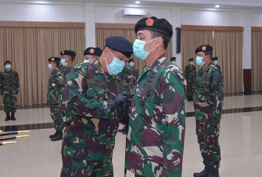 Kolonel Ian Fuady Jabat Pangkosekhanudnas II