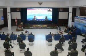 Mengenal Industri Pertahanan, Seskoau A-57 Secara Daring Kuliah Kerja IPTEK