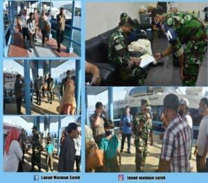Hari Perdana Pengabdian Komandan Pangkalan TNI AU Maimun Saleh Tiba Di Pelabuhan Ujung Barat Negara Kesatuan Republik Indonesia,( Pulau Weh Sabang ).