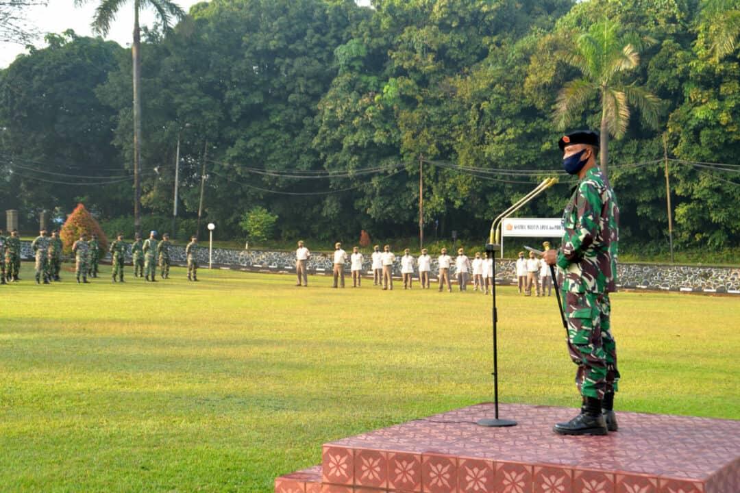Pangkosekhanudnas I, Awali Tugas dengan Entry Briefing