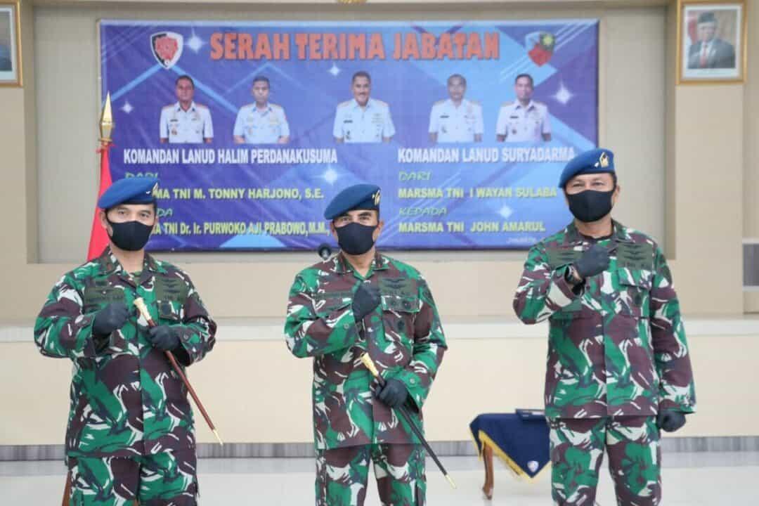 Marsma TNI Purwoko Aji Prabowo Jabat Danlanud Halim ke-39