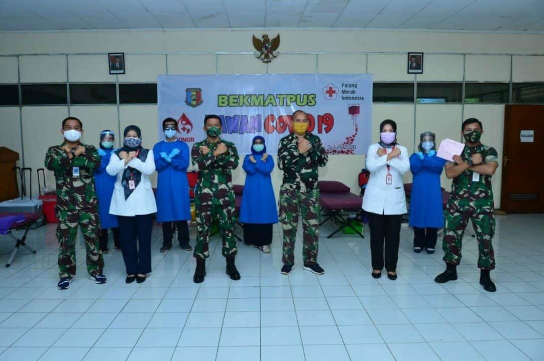Bekmatpus Bantu PMI DKI Jakarta Penuhi Stok Darah di Tengah Pandemi