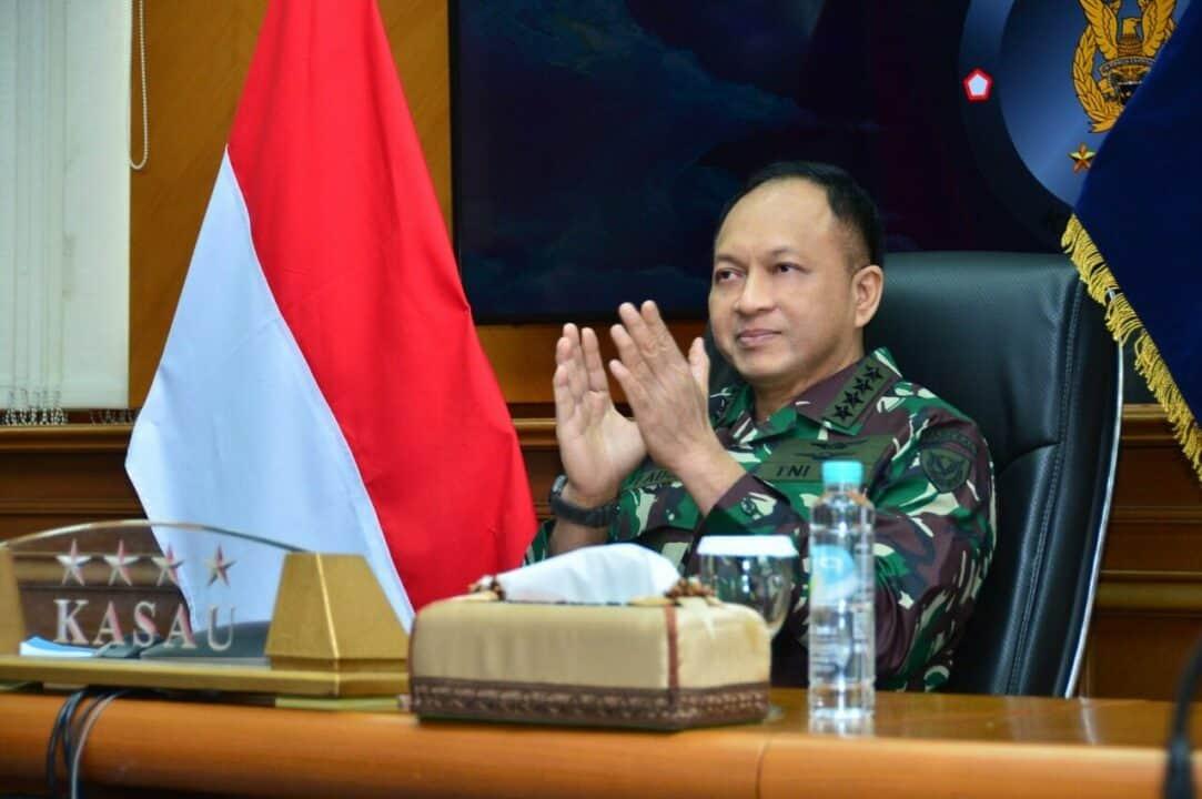 Pembekalan Siswa Sekkau A-107, Kasau: Perwira TNI AU Harus Mampu Berpikir Kritis dalam Berbagai Situasi