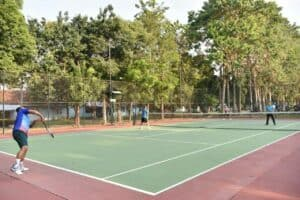 Olahraga Bersama Di Lanud Iswahjudi