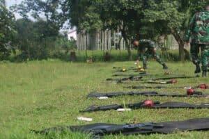 Lanud Soewondo Gelar Latihan Menembak Laras Panjang