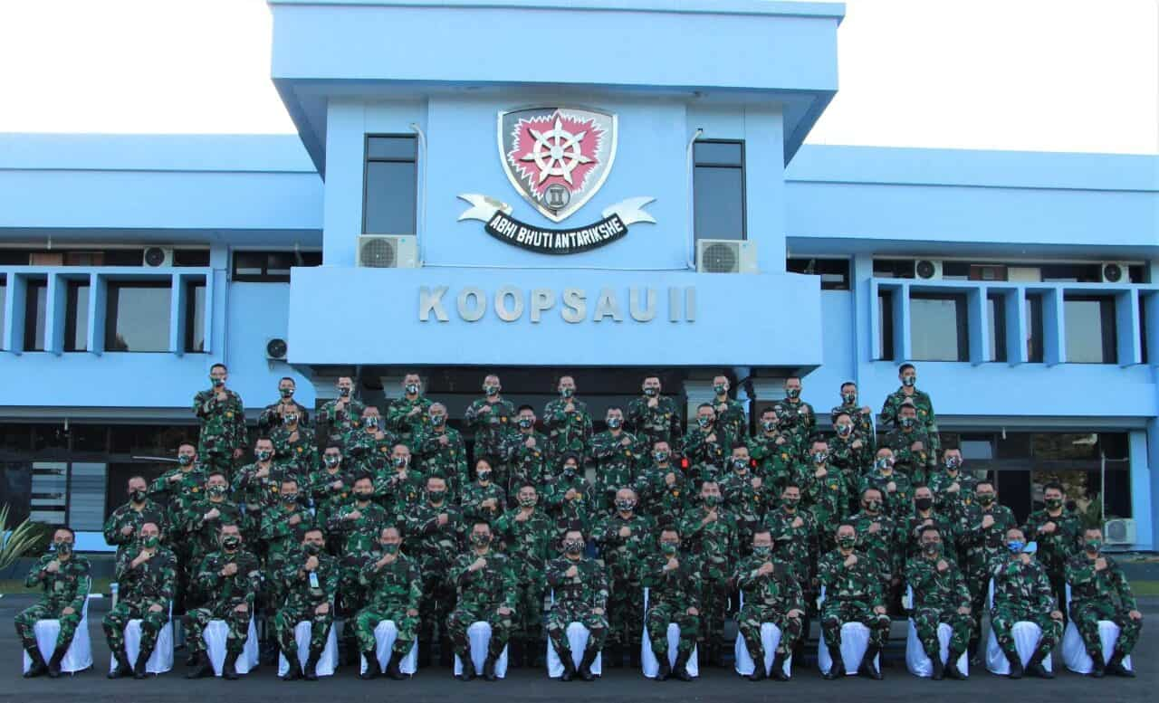 Antisipasi Terjadinya Ancaman, Pasis Seskoau A-57 Belajar Menyusun Rentinkon Di Koopsau ll