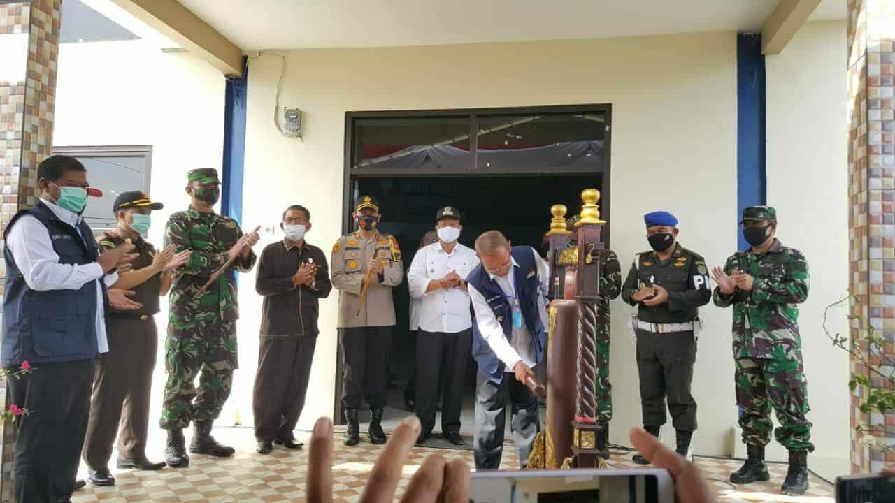 """Danlanud Sugiri Sukani Bersama Forkopimda Kabupaten Majalengka """"Launching Desa Tangguh Raharja"""" di Tengah Pandemi Covid-19"""