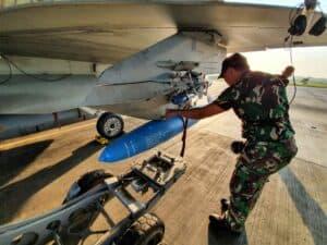 Tingkatkan Kemampuan Penerbangnya, Lanud Iswahjudi gelar Latihan di AWR Pulung