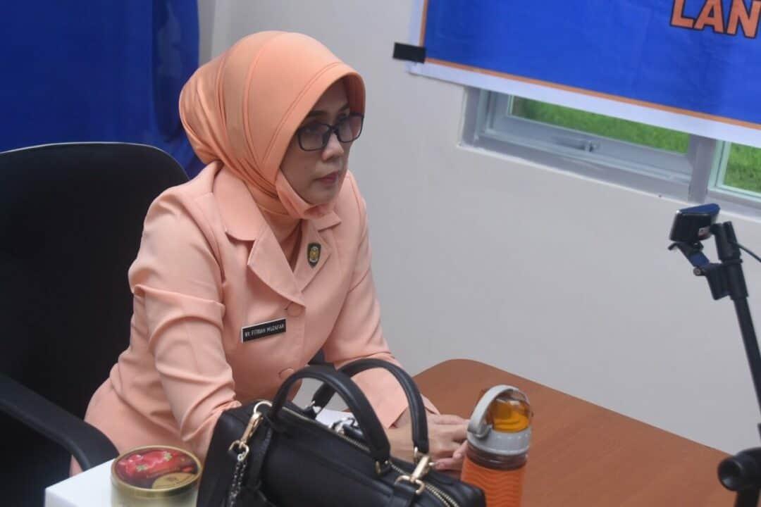 Ketua Yasarini Cabang Lanud Haluoleo mengikuti Rakor Yasarini secara Virtual