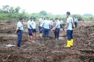 Lahan Seluas Setengah Hektar Siap Ditanami