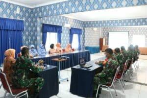 Yasarini Lanud Sulaiman Ikuti Vidcon Rapat Kerja Pendidikan dengan KSAU dan Waketum Yasarini
