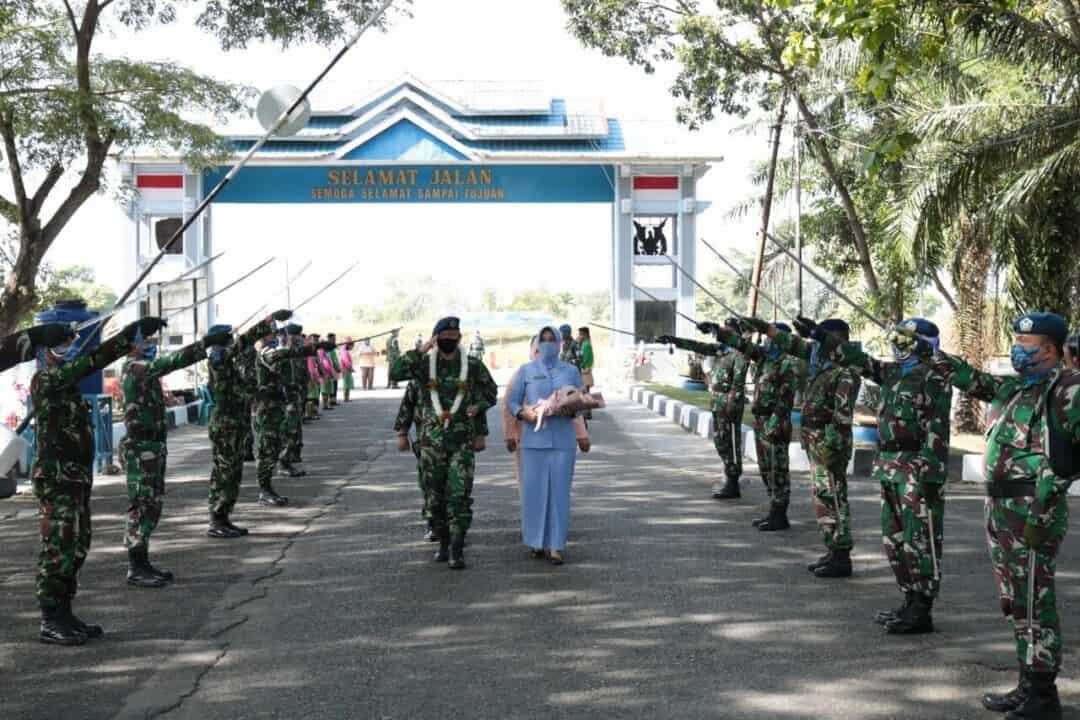 Lepas Sambut Danlanud SIM, Dari Kolonel Pnb Hendro Arief Herianto Kepada Kolonel Pnb Mohamad Satriyo Utomo