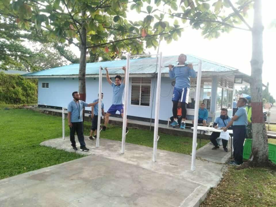 Ditengah Kondisi New Normal Lanud Sutan Sjahrir Laksanakan Tes Kesamaptaan Jasmani Semester I