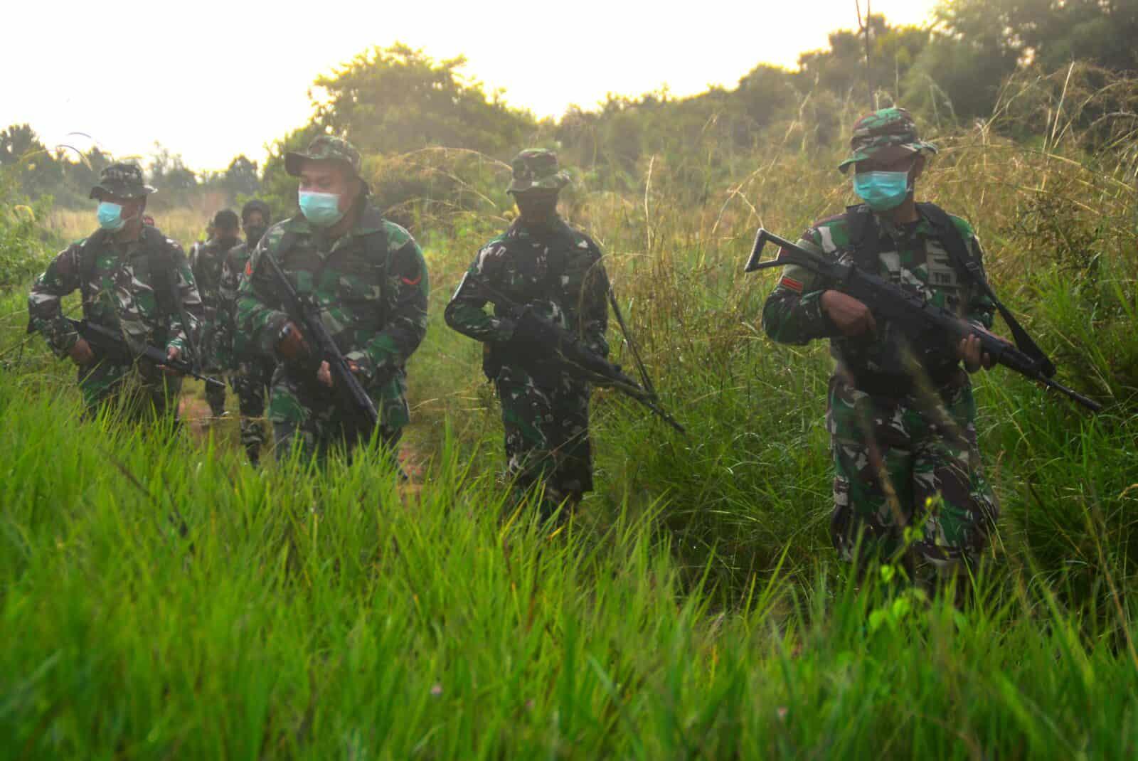 Lanud Sjamsudin Noor Berhasil Amankan Aset TNI AU Melalui Gelar Latihan Pertahanan Pangkalan