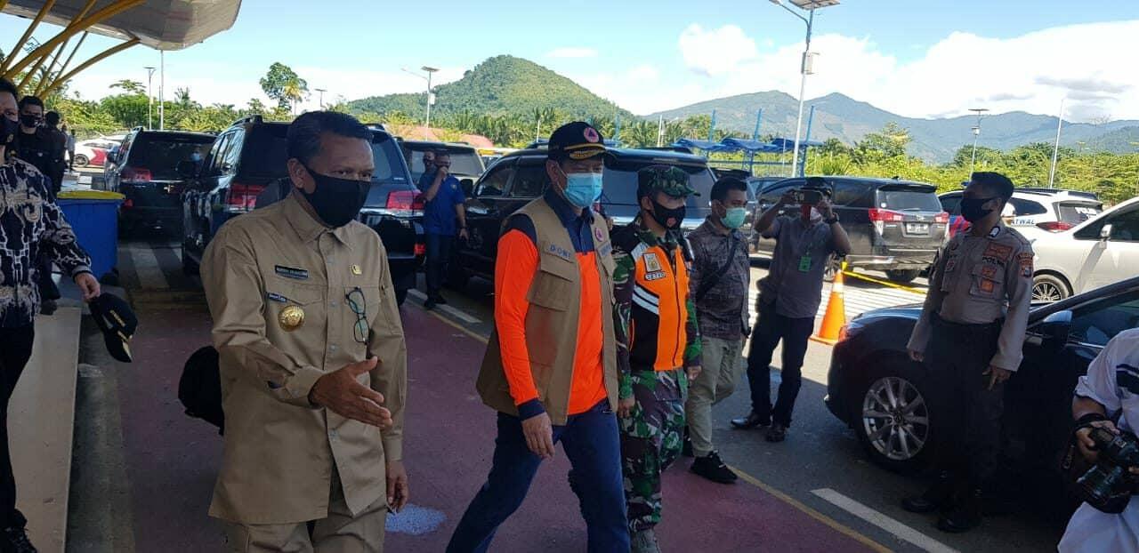 TNI AU Merespon Bencana Banjir Bandang Kabupaten Luwu Utara Sulawesi Selatan dengan Mengerahkan dua Pesawat dan Siagakan Paskhas