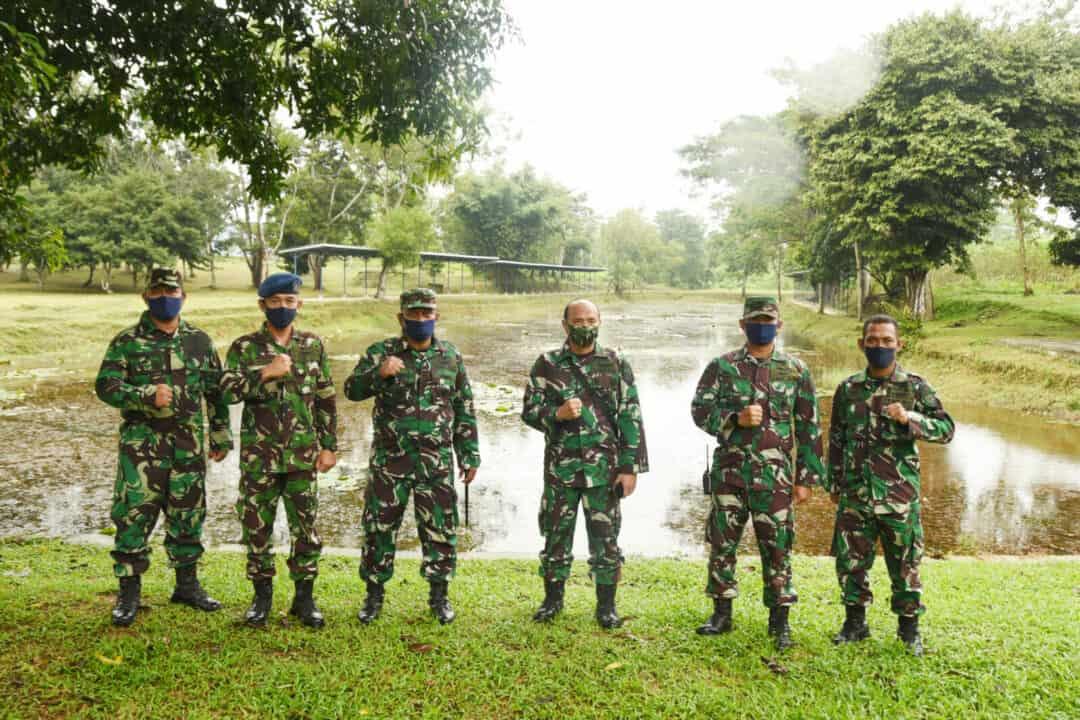 Sosialisasi dan Wasev Binpotdirga di Lanud Pangeran M. Bun Yamin