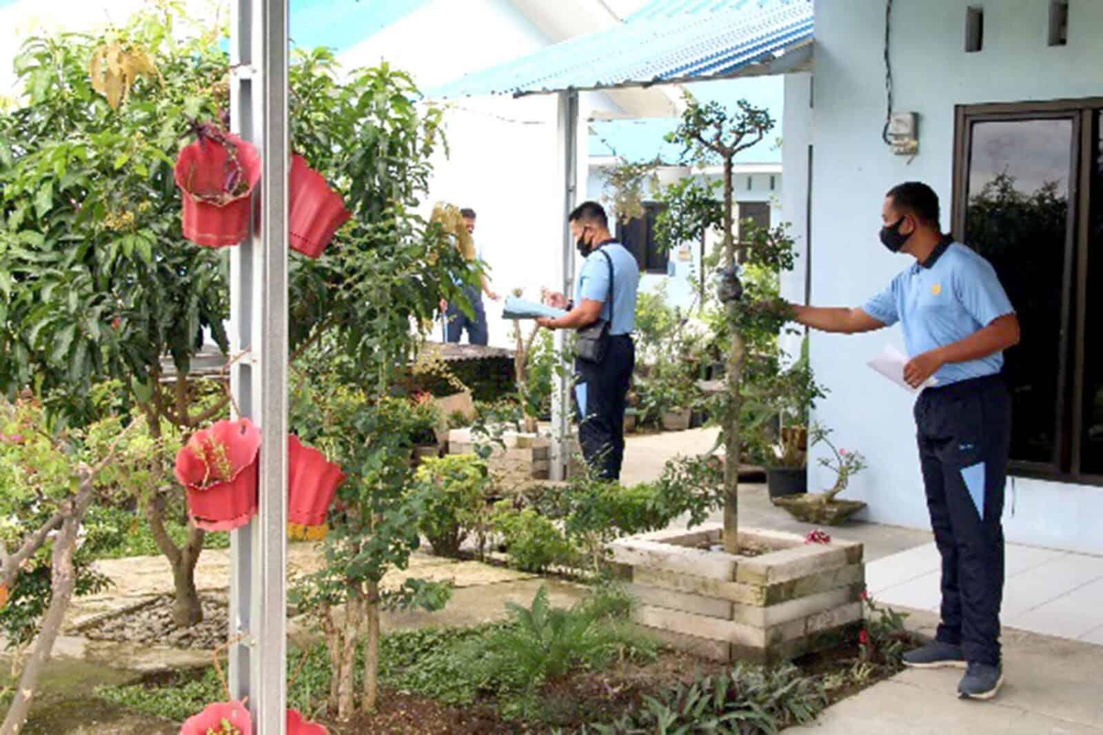 Lomba Rumah Bersih Dan Sehat Dalam Rangka Hari Jadi Ke – 41 Tahun Kesatrian F.L Sihombing Yonko 469 Paskhas Medan