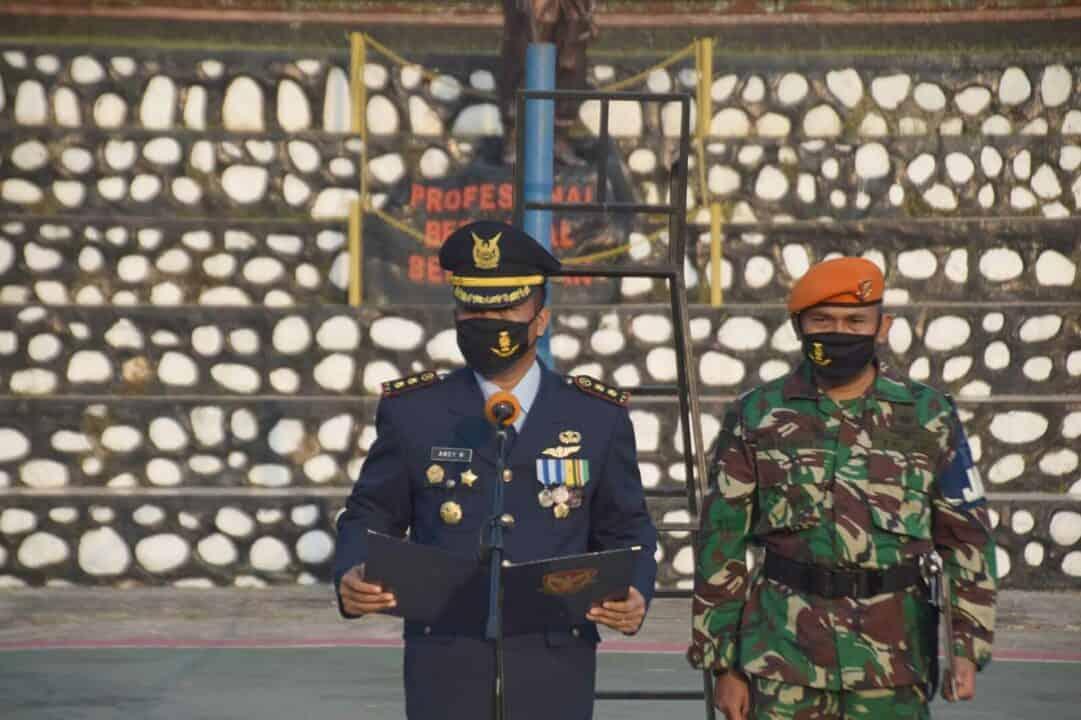 Upacara Memperingati Hari Bakti ke-73 TNI Angkatan Udara