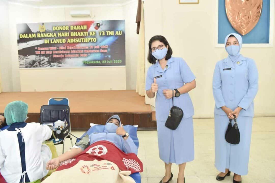 PIA AG. Ranting 05-02/G.IV Denhanud 474 Paskhas Ikut Partisipasi Hari Bakti TNI AU Ke-73