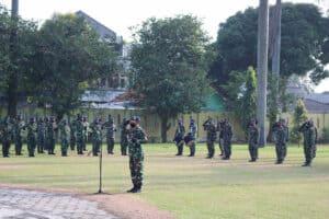 ZIARAH PERINGATAN KE-73 HARI BAKTI TNI AU DI TMP DREDED BOGOR