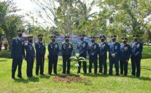 Komandan Lanud Supadio Tanam Pohon Sukun