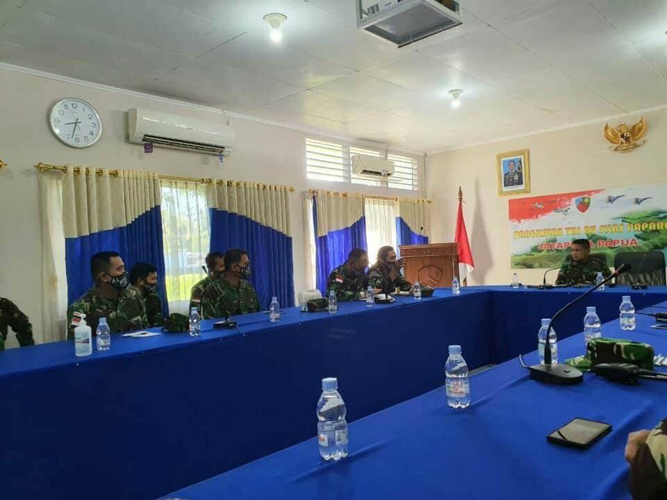 """Dalam Rangka Hari Bakti TNI AU, Lanud Silas Papare Jayapura launching lagu """"New Normal New Spirit"""" untuk para pahlawan penanganan Covid-19"""