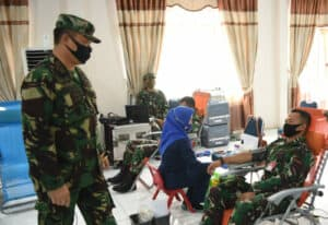 Menjelang Hari Bhakti TNI AU, Lanud Rsn Dan Masyarakat Donorkan Darah