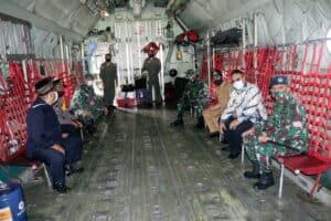 Sejarah Mencatat 13 Juli 2020 Pesawat Hercules melaksanakan Test Landing Pertama kali Di Lanud Wiriadinata