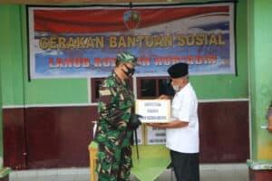 Bersempena Hari Bhakti TNI AU, Danlanud Rsn Sambangi Panti Asuhan