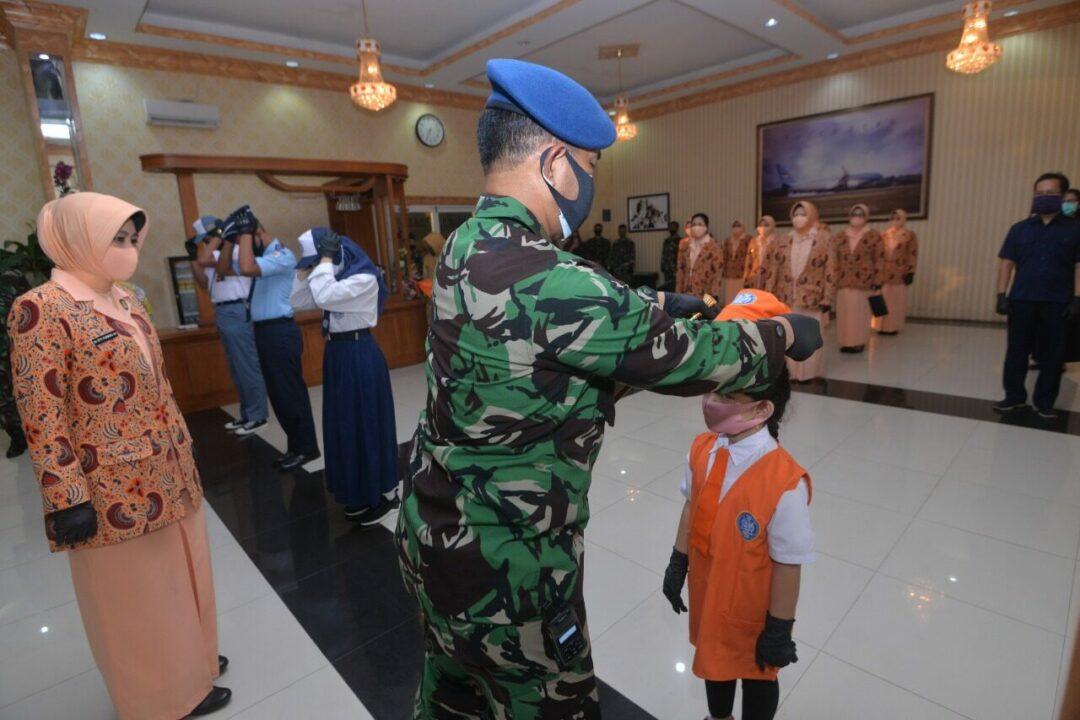Danlanud Halim Secara Resmi Buka MPLS Sekolah Angkasa TA. 2020/2021