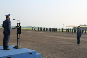 Peringatan ke-73 Hari Bakti TNI AU di Bogor