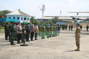 Pesawat TNI AU Bawa Jenazah Pelda Anumerta Rama Wahyudi
