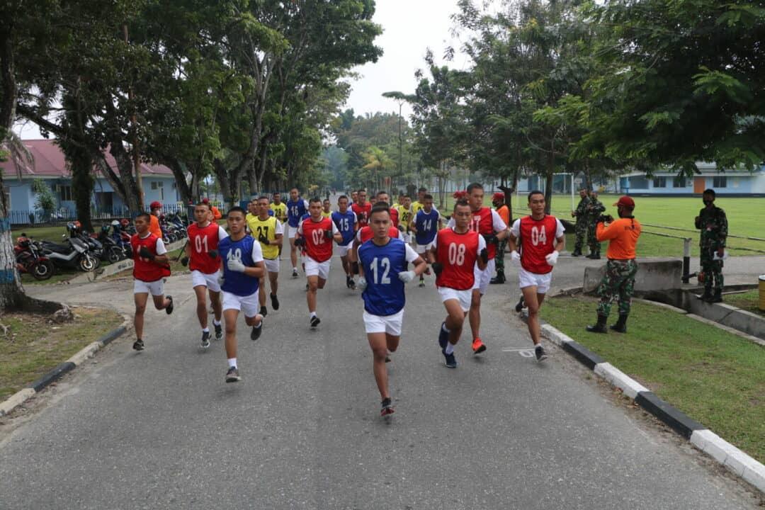 Casis Taruna Akademi Angkatan Udara (AAU) Laksanakan Tes Samapta