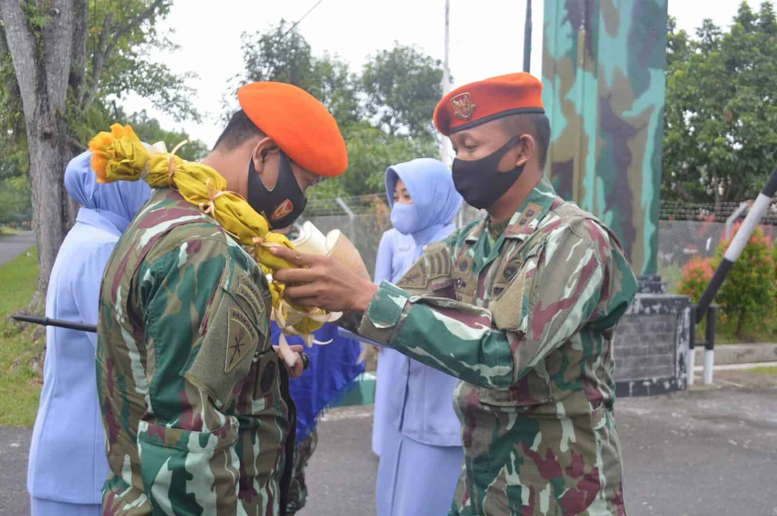 Tradisi Passing In Komandan Wing III Paskhas